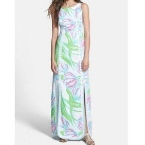 NWT Lilly Pulitzer Biltmore Floral Maxi Dress